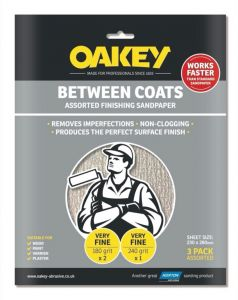 Oakey Between Coats Sheets Pack 3