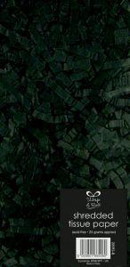 Shredded Tissue Paper Black