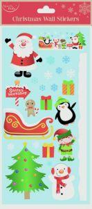Wall Stickers Santa Friends