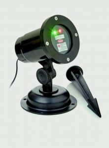 Rotating Laser - Red & Green Dots With Timer