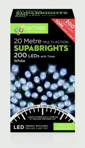 Multi-Action Supabrights With Timer White