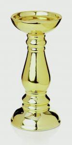 Gold Ceramic Candlestick