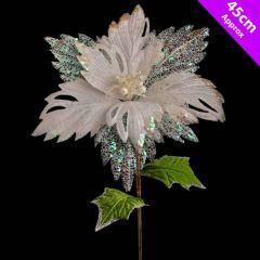 Luxury Poinsettia Pick