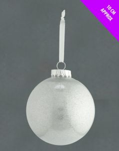 Acrylic Glitter Bauble