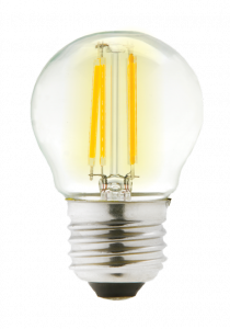 Lyveco Clear Led 4W Filament Round 2700K 470Lm Es