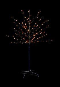 320 Led Black Birch Tree
