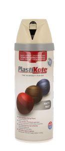 Plastikote Twist & Spray Paint 400Ml French Grey Matt
