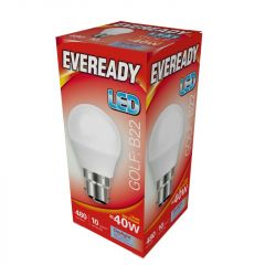 Eveready Led Golf 6W 480Lm Daylight 6500K B22