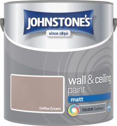 Johnstone's Wall & Ceiling Matt 2.5L Coffee Cream