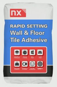 Norcros Nx Rapid Set Adhesive For Tiles 20Kg