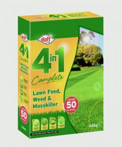 Doff 4 In 1 Complete Lawn Feed Weed & Mosskiller 1.75Kg