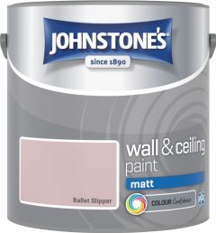 Johnstone's Wall & Ceiling Matt 2.5L Ballet Slipper