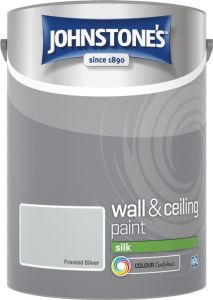 Johnstone's Wall & Ceiling Silk 5L Frosted Silver