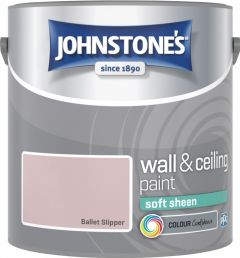 Johnstone's Wall & Ceiling Soft Sheen 2.5L Ballet Slipper