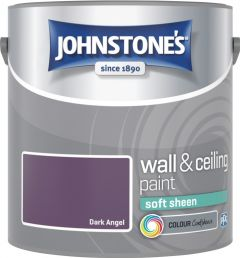 Johnstone's Wall & Ceiling Soft Sheen 2.5L Dark Angel