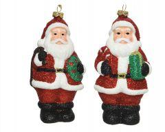 Shatterproof Santa With Hanger