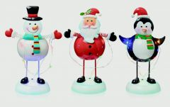23Cm Christmas Metal Ornaments