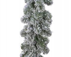 Green/White Snowy Imperial Garland