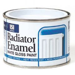151 Coatings Radiator Enamel 180Ml White Gloss
