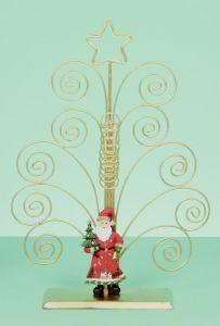 Santa Swirl Card Holder