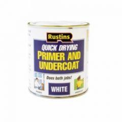 Rustins Quick Dry Primer & Undercoat 500Ml White