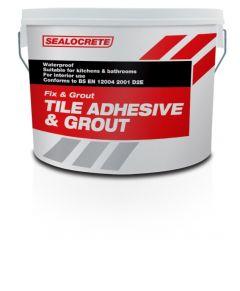 Sealocrete Fix & Grout Tile Adhesive & Grout 5L