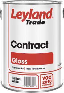 Leyland Trade Contract Liquid Gloss 5L Brilliant White