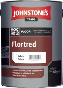 Johnstone's Trade Flortred 5L Safety Blue