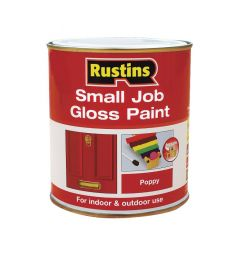 Rustins Small Job Gloss Paint 250Ml White