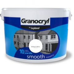 Granocryl Smooth Masonry 10L Brilliant White