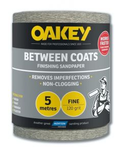 Norton Oakey Between Coats Rolls - 5M X 115Mm 120G