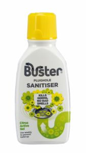Buster Plughole Sanitiser Active Gel 300Ml