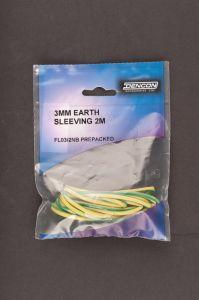 Dencon 3Mm Earth Sleeving 2M