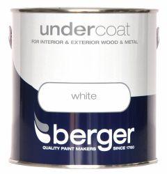 Berger Undercoat 2.5L Pure Brilliant White