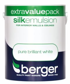 Berger Silk Emulsion 3L Pure Brilliant White