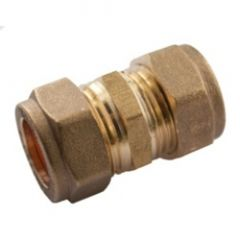 Supaplumb Compression Straight Coupling Pack 10 15Mm