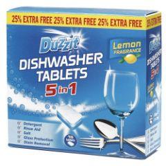 Duzzit 5 In 1 Dishwasher Tablets 15 X 20G