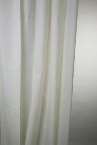 Blue Canyon Peva Shower Curtain 180 X 180Cm Plain White