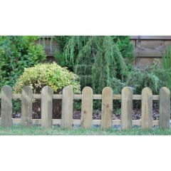 Ambassador Cottage Picket Fence 28 X 111Cm