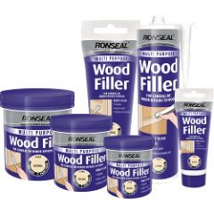 Ronseal Multi Purpose Wood Filler Cartridge 310Ml Natural