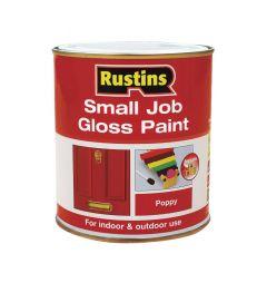 Rustins Small Job Gloss Paint 250Ml Magnolia