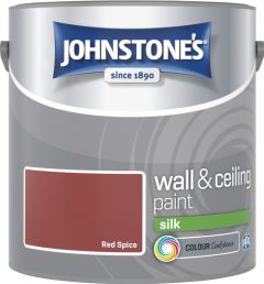 Johnstone's Wall & Ceiling Silk 2.5L Red Spice