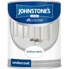 Johnstone's All Purpose Undercoat - Brilliant White 2.5L
