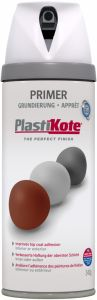 Plastikote Twist & Spray Paint 400Ml White Primer