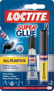 Loctite All Plastics Primer + 2G Tube