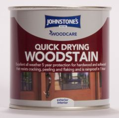 Johnstone's Woodcare Quick Drying Woodstain 250Ml Antique Pine