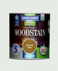 Johnstone's Indoor & Outdoor Woodstain 250Ml Natural Oak