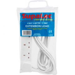 Securlec 4 Gang Extension Lead 5 Metre 13 Amp