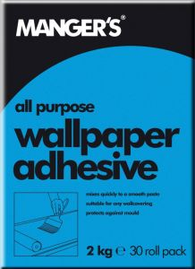 Mangers All Purpose Wallpaper Adhesive 30 Roll