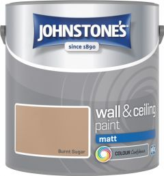 Johnstone's Wall & Ceiling Matt 2.5L Burnt Sugar